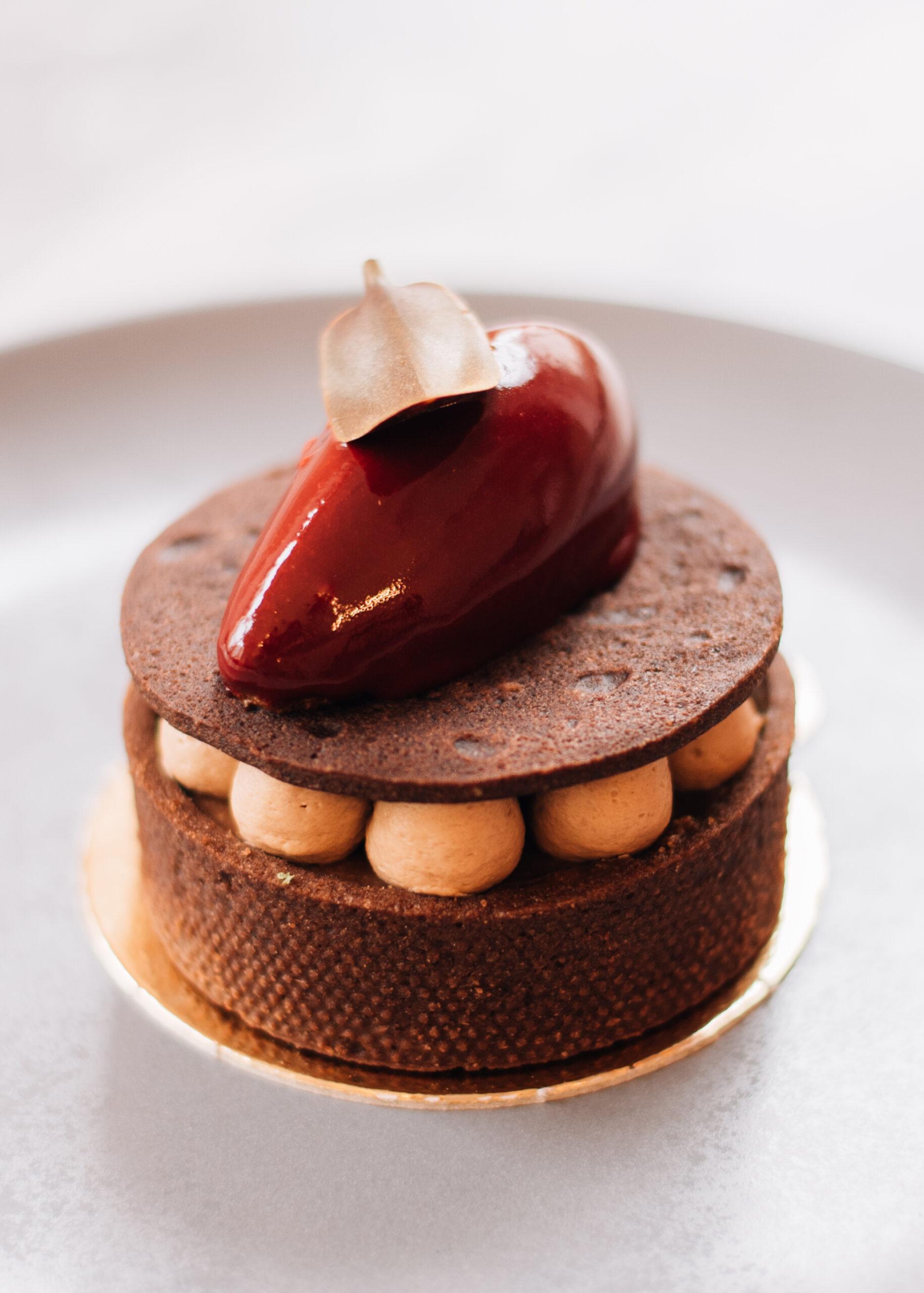 Čokoládová tartaletka